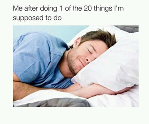 funny and sleeping image
