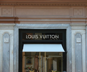 Louis Vuitton, store, and fashion image
