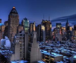 beautiful, city, and winter image