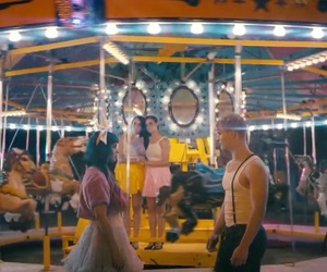 art, carnival, and carousel image