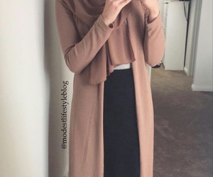 chic, islam, and hijabstyle image