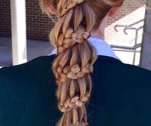 hair and carousel braid image