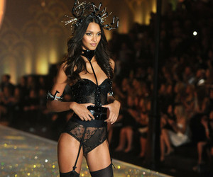 angel, fashion show, and lingerie image