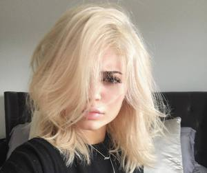 kylie jenner, blonde, and kylie image