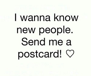 want a postcard image