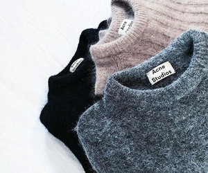 fashion, sweater, and winter image