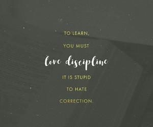 correction, discipline, and learn image
