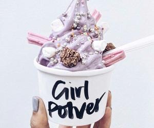food, ice cream, and girl power image