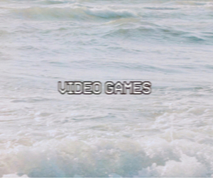 video games, lana del rey, and grunge image