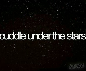 stars, cuddle, and before i die image