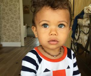 baby, mixed, and cute image