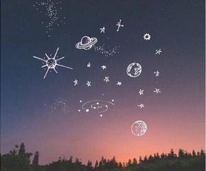 sky, wallpaper, and stars image