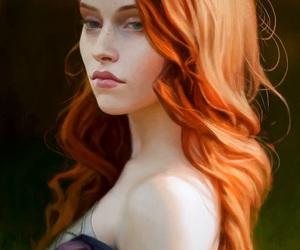 beautiful, fantasy, and girl image
