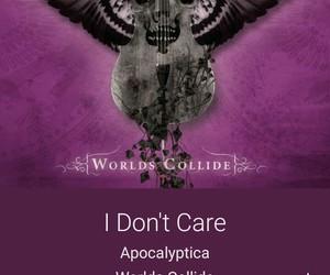 apocalyptica and idon'tcare image