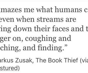 book, markus zusak, and quotes image