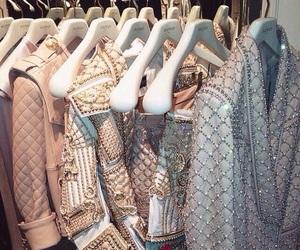 fashion, Balmain, and jacket image