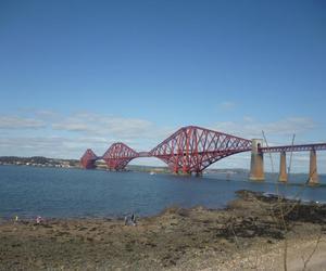 bridge, family, and scotland image