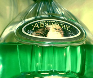 absinthe, colors, and drink image