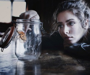 butterfly, life, and красивая девушка image