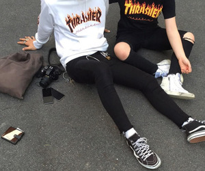 tumblr, thrasher, and style image