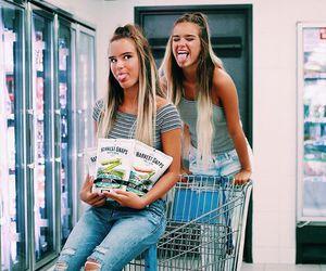 beautiful, girls, and twins image