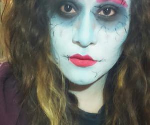 Halloween, make up, and monster image