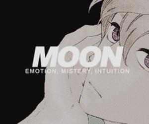 manga, moon, and hirunaka no ryuusei image