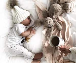 adorable, baby, and cup image