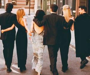 Courteney Cox, Jennifer Aniston, and friends image