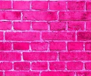 pink, background, and wall image