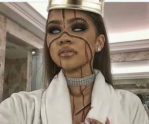 zendaya, Halloween, and makeup image