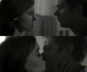 holland roden, dylan o'brien, and lydia martin image