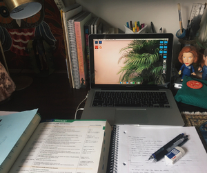 book, college, and laptop image