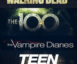 tvd, pll, and teenwolf image