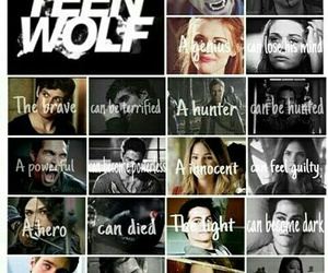 serie, tv show, and teen wolf image