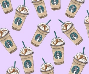 starbucks, wallpaper, and background image