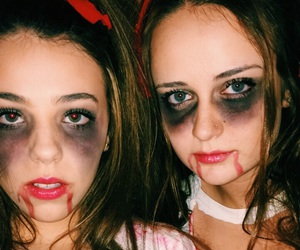 best friends, Halloween, and party image