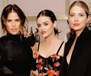 lucy hale, ashley benson, and karla souza image