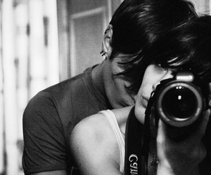 couple, love, and camera image