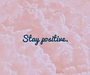 positive, pink, and wallpaper image