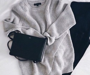 bag, sweater, and outie image