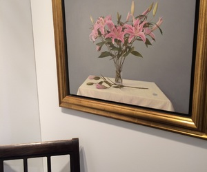 art, flower, and gallery image