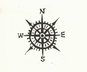 compass, north, and West image