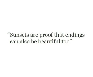 quotes, beautiful, and sunset image