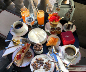 breakfast, food, and luxury image