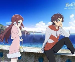 nagi no asukara, anime, and hikari image