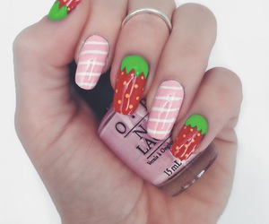 hand, nail art, and made by me image