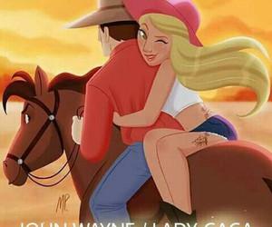 cowboy, ladygaga, and joannevibes image