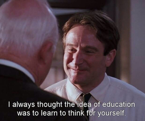 dead poets society, quote, and this image