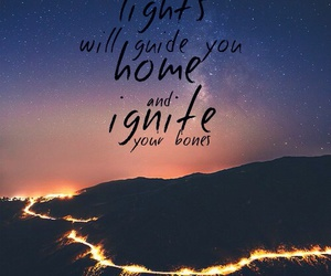 coldplay, home, and night image